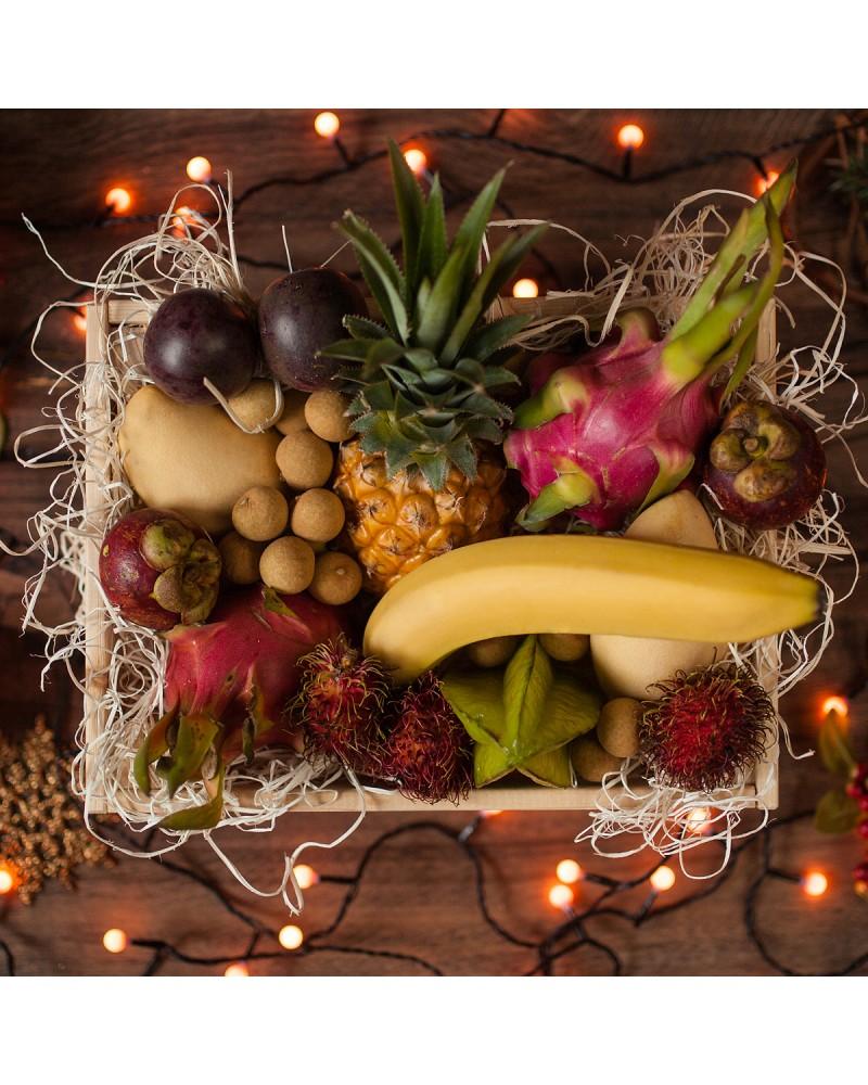 коробка экзотических фруктов на заказ