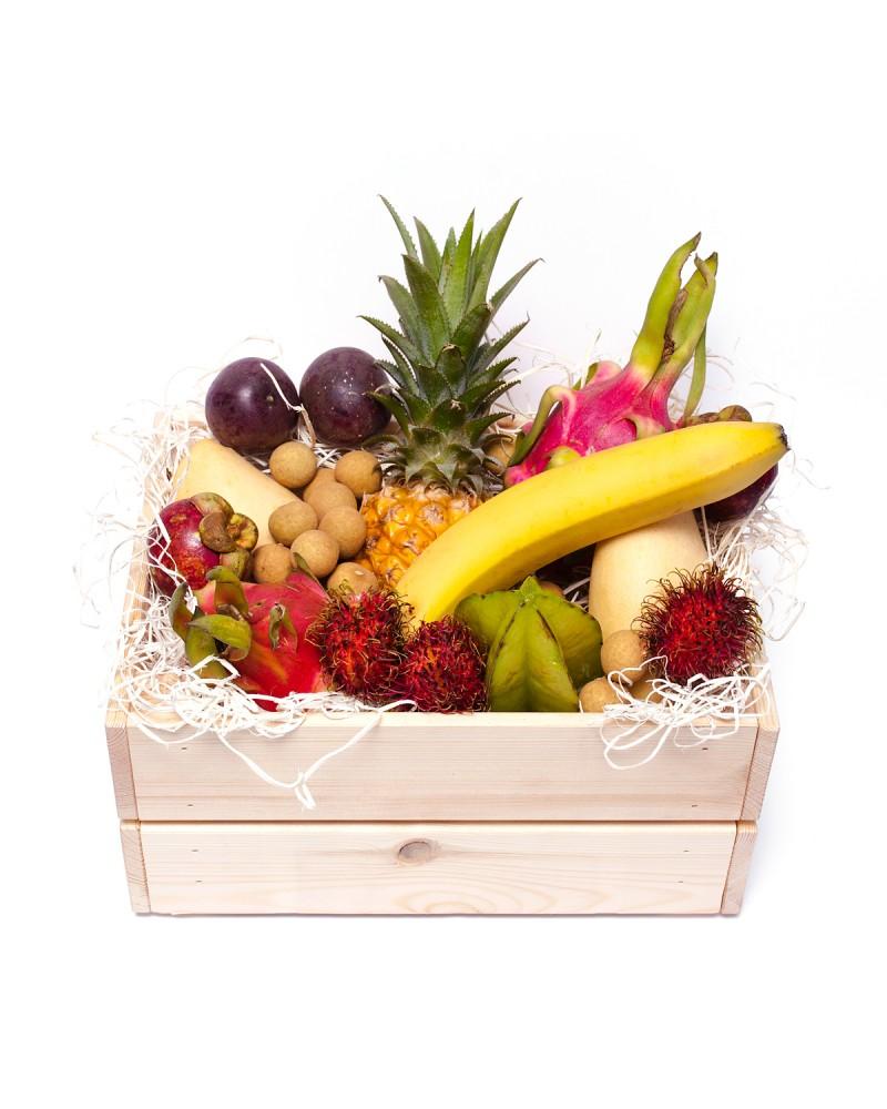 Набор экзотических фруктов подарок 52