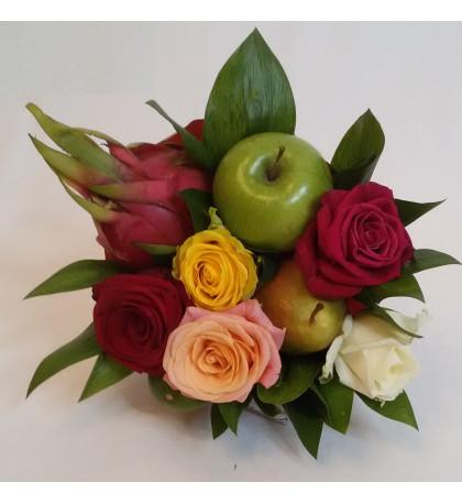 Букет из фруктов Выпускной
