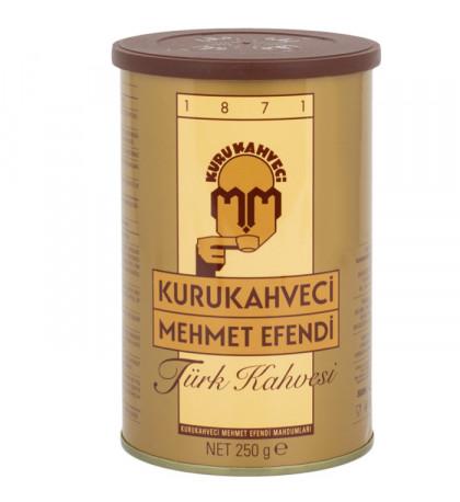 Кофе Кurukahveci Mehmet Efendi 250г в банке, молотый
