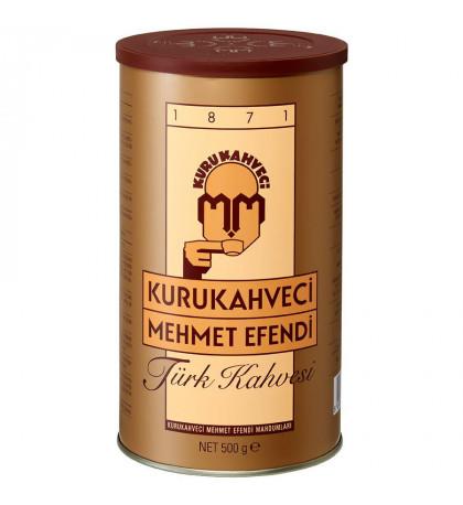 Кофе Кurukahveci Mehmet Efendi 500г в банке, молотый