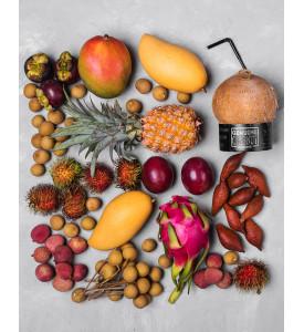 """Коробка экзотических фруктов """"Отдых на Сейшелах"""""""