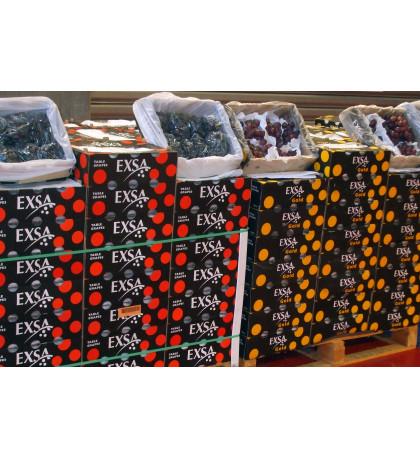 Коробка винограда черного 4,5 кг , ЮАР