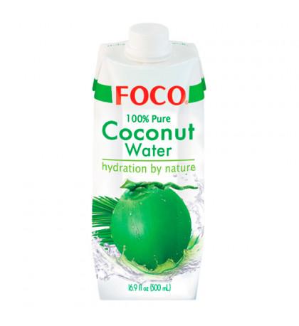 Foco 100% Кокосовая вода 0,5л