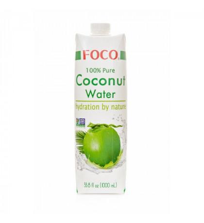 FOCO Кокосовая вода 100%, 1л
