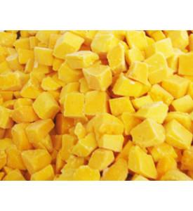 Манго замороженное 10кг, кубик