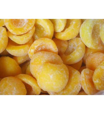 Замороженный персик 10кг, половинки
