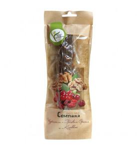 Чурчхела с грецким орехом и клюквой, 170г