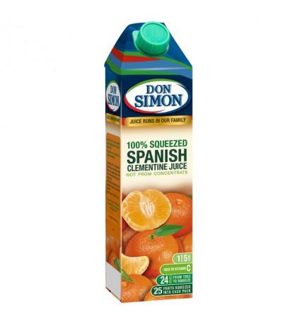 Сок мандариновый 100% Don Simon, 1л