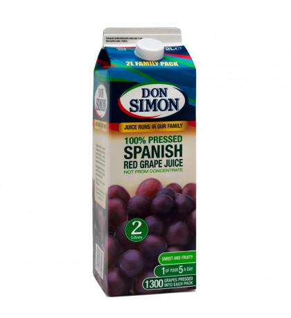Сок виноградный 100%, Don Simon 2л