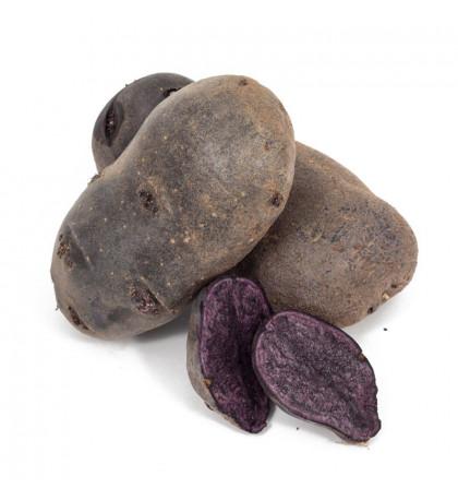 Картофель фиолетовый, 1кг