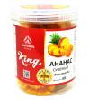King сушеный ананас, 500 г