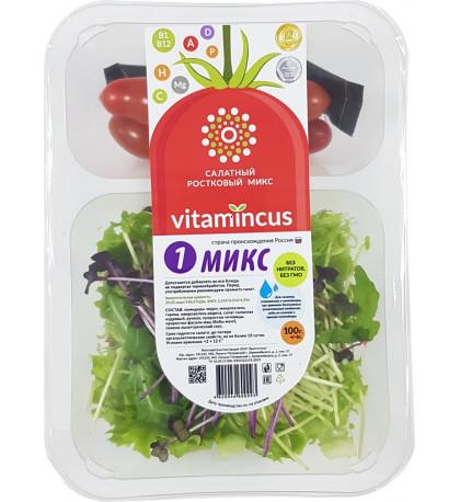 """Салат из проростков """"Микс 1"""", 150г."""