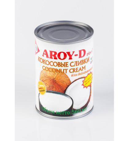 Кокосовые сливки Aroy-d Таиланд, 560 мл