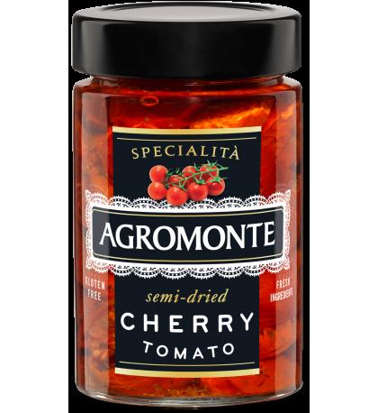 Полу-сушеные томаты черри в масле, Agromonte 200г