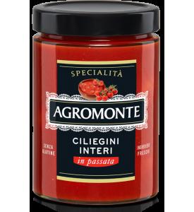 Помидоры черри целые в томатном соусе Agromonte, 520 г
