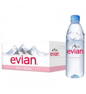 Evian 0,5 минеральная вода без газа