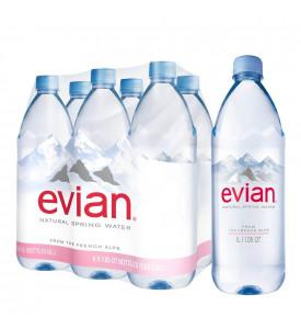 Evian 1,5 минеральная вода без газа