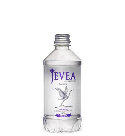 Вода Jevea газированная 0,5 л