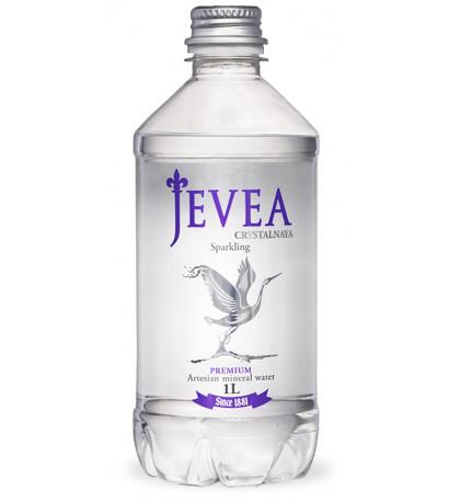 Вода Jevea газированная 1л