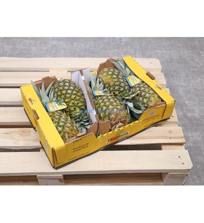 Ящик ананасов, 5/6й калибр, 12 кг