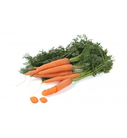 Морковь с ботвой, 1 кг