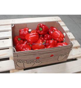 Ящик красного болгарского перца, 5 кг