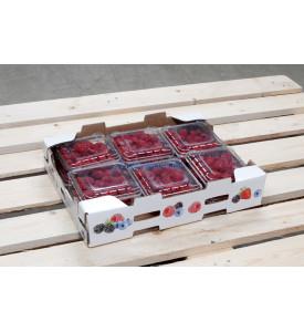 Коробка малины, 1.5 кг