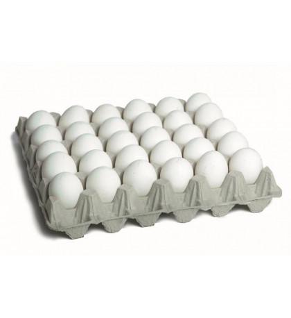 Яйца белые куриные, домашние 30 шт
