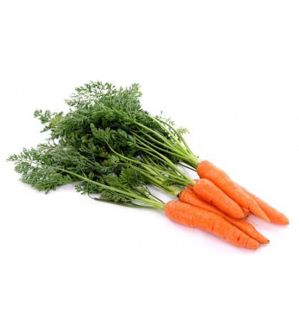 Морковь с ботвой 1 кг